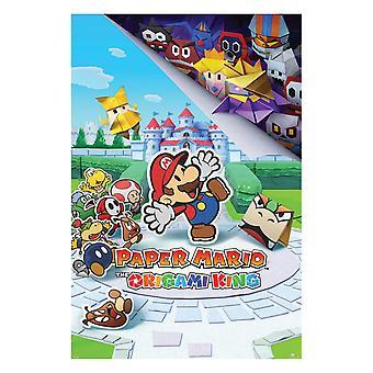 Papier Mario, Maxi Poster - De Origami King