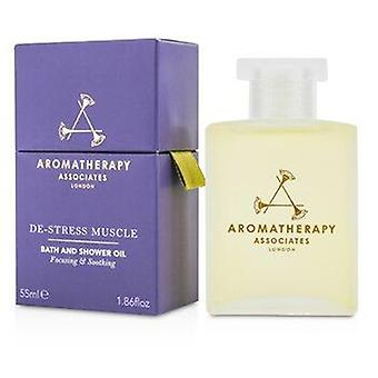 De-Stress - Muscle Bath & Shower Oil 55ml or 1.86oz