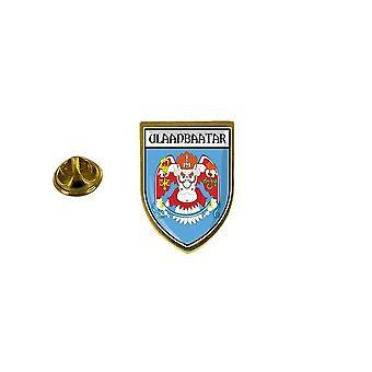 pine pine pine badge pine pin-apos;s souvenir city flag country coat of arms oulan bator Mongolian