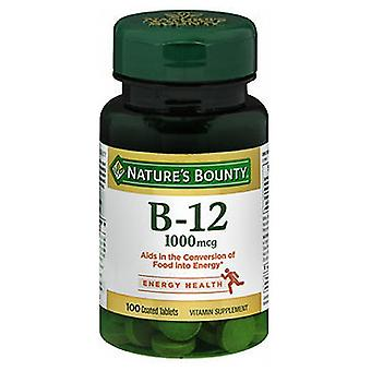 Nature's Bounty Vitamin B-12, 1000 mcg, 100 tabs