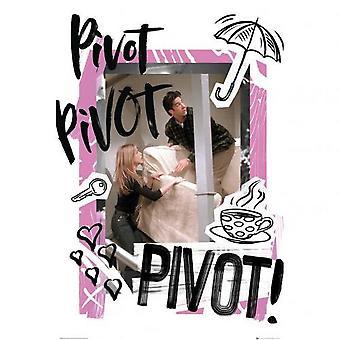 Cartel de Friends Pivot