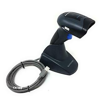 Datalogic QD2430 USB Barcode Scanner with Stand & RJ48 Cable -  2D Imager