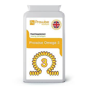 Omega 3 1000mg 90 Softgel | 1000Made In UK