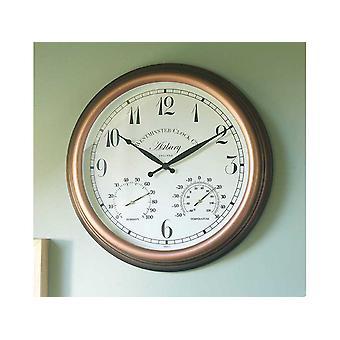 Smart Solar Astbury Clock & Thermometer 5060010