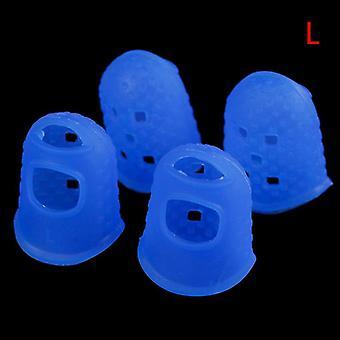 Siliconen Finger Guards Guitar Fingertip Protectors voor Ukulele