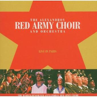 Red Army Choir - Live in Paris [CD] USA import