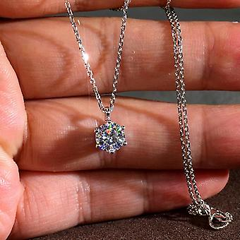 Beautiful necklace that marks the clavicles in genuine silver