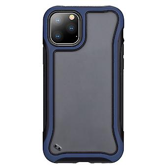 Für iPhone 11 Pro Blade Serie transparent AcrylSchutzfall (Navy Blue)