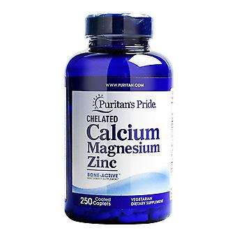 250 Tablets  Calcium Magnesium Zinc - Dietary Supplement