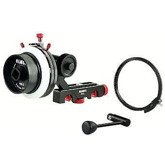 Filmcity hs-2 profesionálne hi-grade sledovať zameranie s a / b tvrdé zarážky, flexibilný prevodový pás & rýchlosť cra