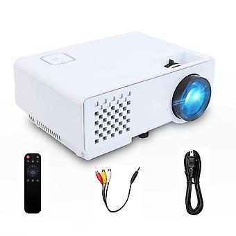 Mini 2800 Lumenów do Full Hd 1080p, bezprzewodowy wyświetlacz synchronizacji dla telefonu, LED