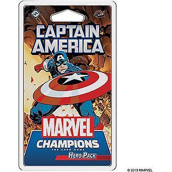 Fantasy Flight Games Captain America Hero Pack - Marvel Champions the Card Game