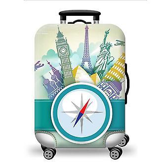 Elastic Luggage Cover Compas Imprimer