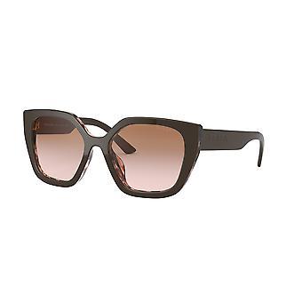 Prada SPR24X ROL/0A6 Ruskeatäplikäs Vaaleanpunainen/Ruskea Kaltevuus Aurinkolasit