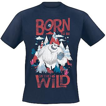 Smallfoot Adults Unisex Adults Born To Be Wild T-Shirt
