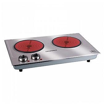 Glazen keramische kookplaat draagbare JATA V532 2400W
