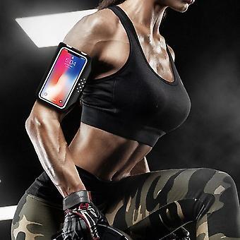 Vedenkestävä matkapuhelin käsivarsinauhakotelo Iphone Samsung Sonylle