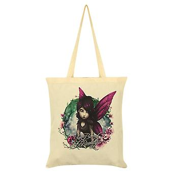 Hexxie So Bored Of Reality Rose Tote Bag