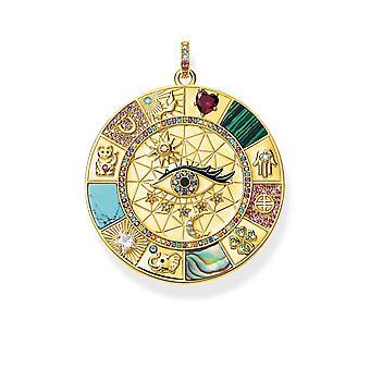 Anheng Amulett Magiske Lucky Symboler Gylne Smykker