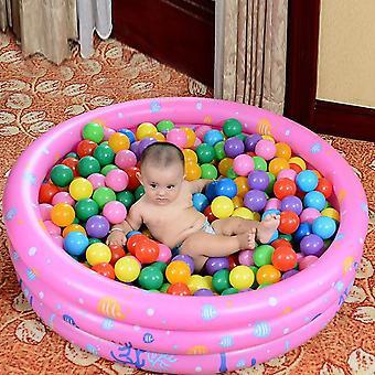 Kannettava sisäilman vauvan uima-allas Puhallettava altaan kylpyamme ocean ball