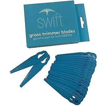 """(blade pack) Swift 40V 10"""" Cordless Battery Grass Trimmer"""