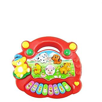 Musical Instrument Toy Baby Kids Animal Farm Piano  Educational