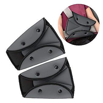 Seat Belt Adjuster For Kids,car Seatbelt Safety Triangle Positioner,2 Packs