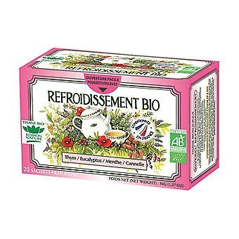 Organic cooling herbal tea 20 infusion bags
