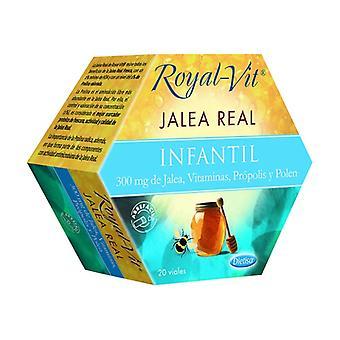Royal-Vit Children&s Royal Jelly 20 ampuller av 300mg