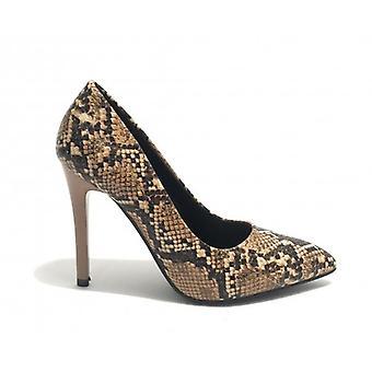Women's Shoes Décolleté Gold&gold Tc 95 Ecopelle Python Print Beige D20gg08