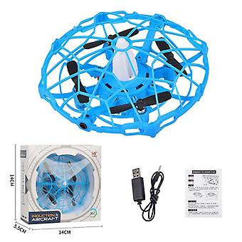Kids Helicopter, Rc, Ufo Drone Aircraft, Hand Sensing Infrared Quadcopter,