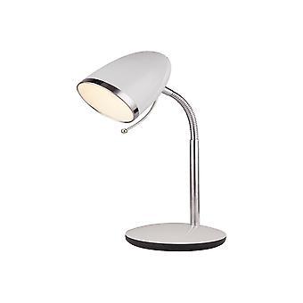 Witte en Chrome-taaklamp