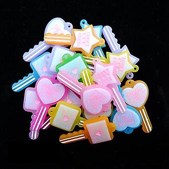 Mix Set Charms Pendants For Handmade  Decoration Bracelets Necklace Earring Key