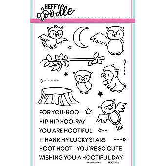 Heffy Doodle Hootiful Clear Stamps