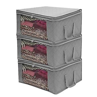 Non-woven Fabric Folding Storage Box, Quilt Clothes Collecting Case