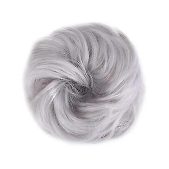 Damen synthetische Nuskusch Lockige Scrunchies Hochzeit Erweiterungen Haar