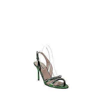 Miu Miu | Jewel Strappy Korkeakorkoiset sandaalit