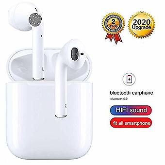 TWS i11 Wireless In-Ear Bluetooth Headphones, Wireless Bluetooth 5.0 earphones Touch Control Pop-UPS 3D Stereo Noise Reduction IPX5 Waterproof Headphones with Microphone