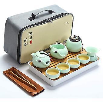 ערכת תה נסיעות ניידת