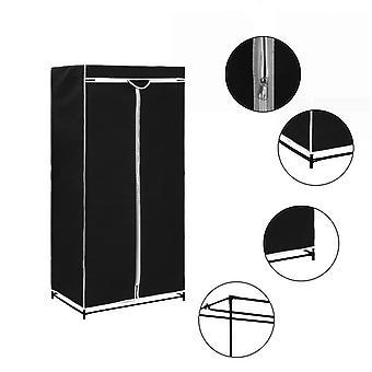 vidaXL Wardrobe Black 75×50×160 cm