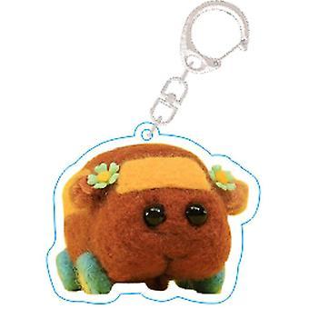 Guinea Pig Cartoon Keychain