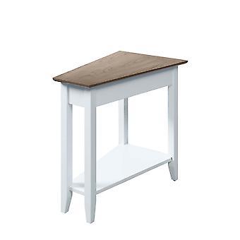 American Heritage Wedge End Table