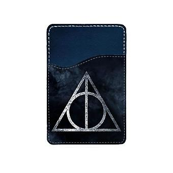 Harry Potter The Deathly Hallows Mobile Phone Adhesive Card Holder