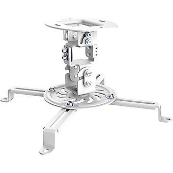FengChun CC50280 Deckenhalterung für Beamer, Neigbar -15° bis +15°, schwenkbar 360°, Drehbar 360°,
