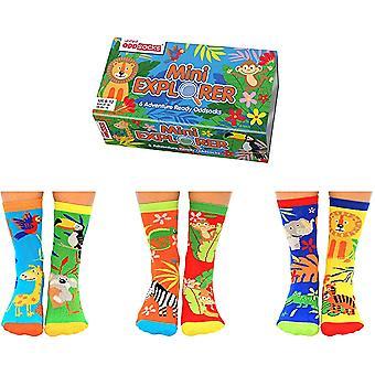 United Oddsocks Children's Jungle Sock