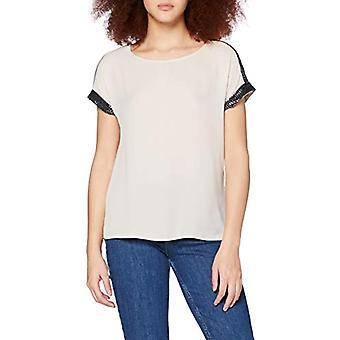Only ONLGABRIELLA S/S Top Wvn T-Shirt, Mondstrahl, L Damen