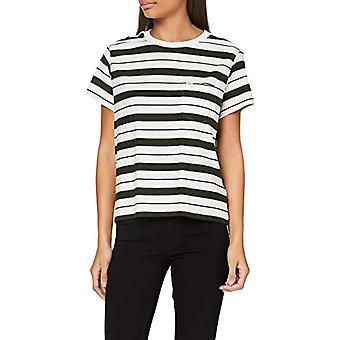 Lee avslappnad ficka tee T-shirt, Serpico Green, S Donna