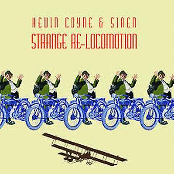Kevin Coyne & Siren – Strange Re-Locomotion Live In Concert - 2003 Limited Edition Gul Vinyl