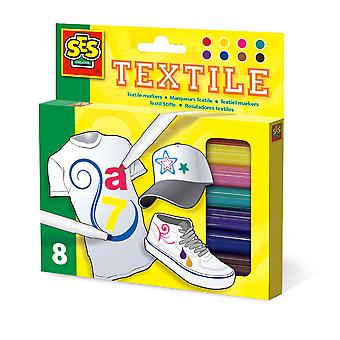 SES Creative Children's Permanent Textile Markers Set Activity Set