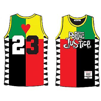 Mens #23 Poetic Justice Basketball Jersey 90 Hip Hop Rap Outdoor Sports T-shirt For Men S-xxl